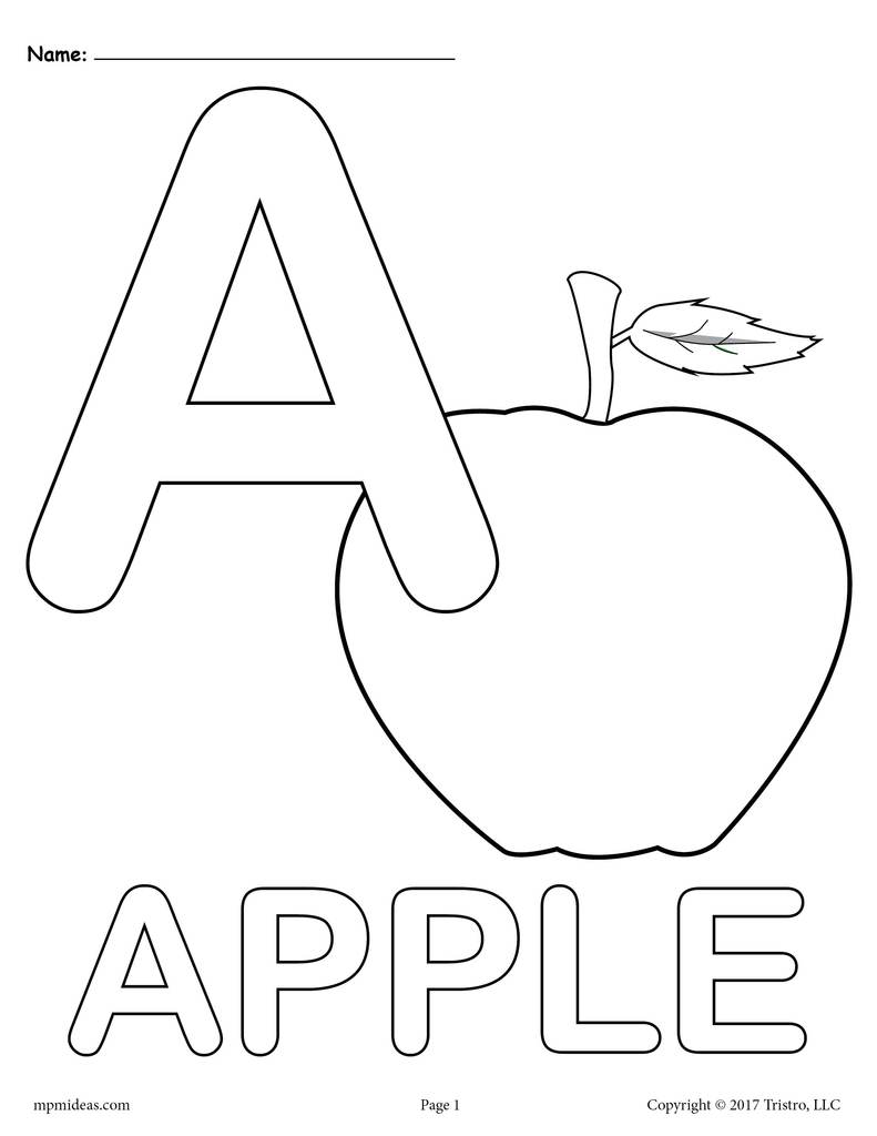 coloring pages of letter a letter a alphabet coloring pages for kids abc letter of a coloring pages