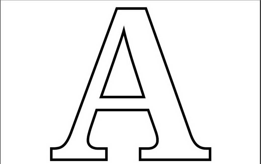 coloring pages of letter a letter a coloring pages preschool and kindergarten of a pages letter coloring