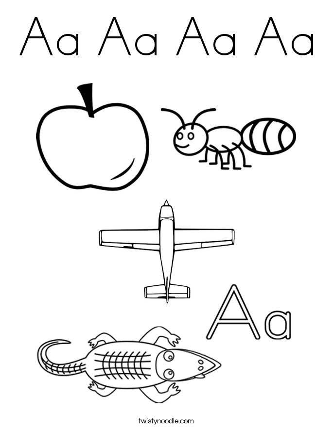 coloring pages of letter a letter aa tracing pages google search letter a coloring pages a of letter
