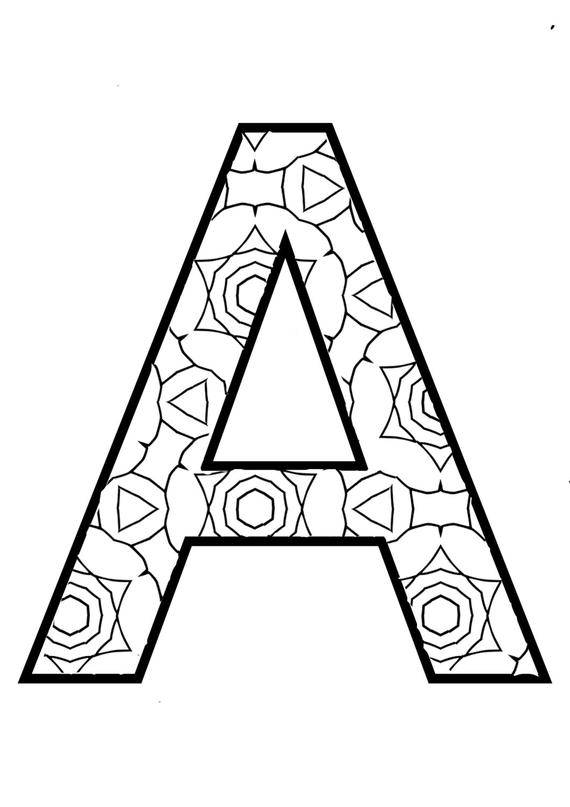 coloring pages of letter a the full alphabet coloring pages coloring a of pages letter