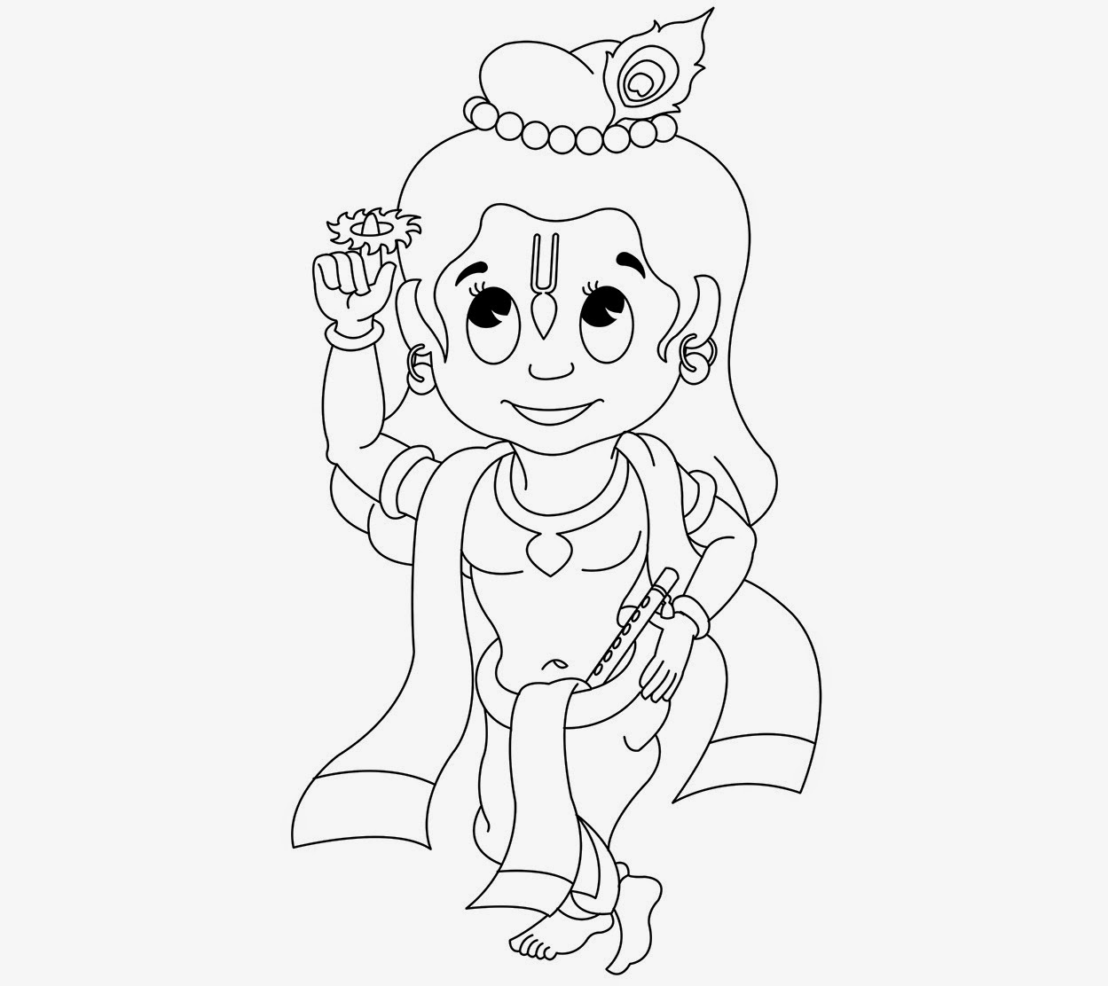 coloring pages of little krishna colour drawing free hd wallpapers little krishna for kid little coloring of krishna pages
