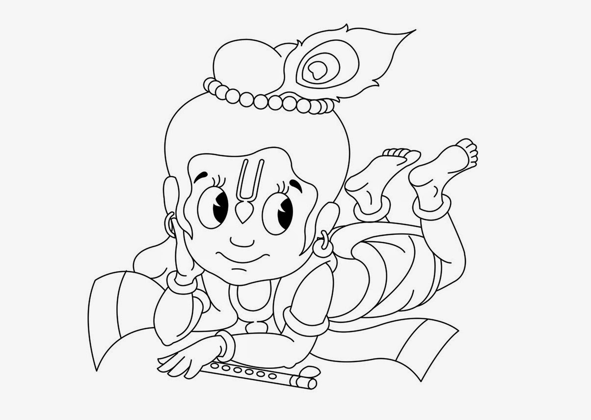 coloring pages of little krishna colour drawing free hd wallpapers little krishna for kid of krishna little coloring pages
