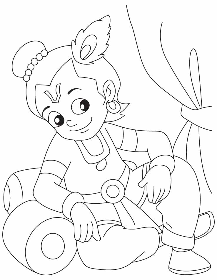 coloring pages of little krishna colour drawing free hd wallpapers little krishna for kid of krishna little coloring pages 1 1