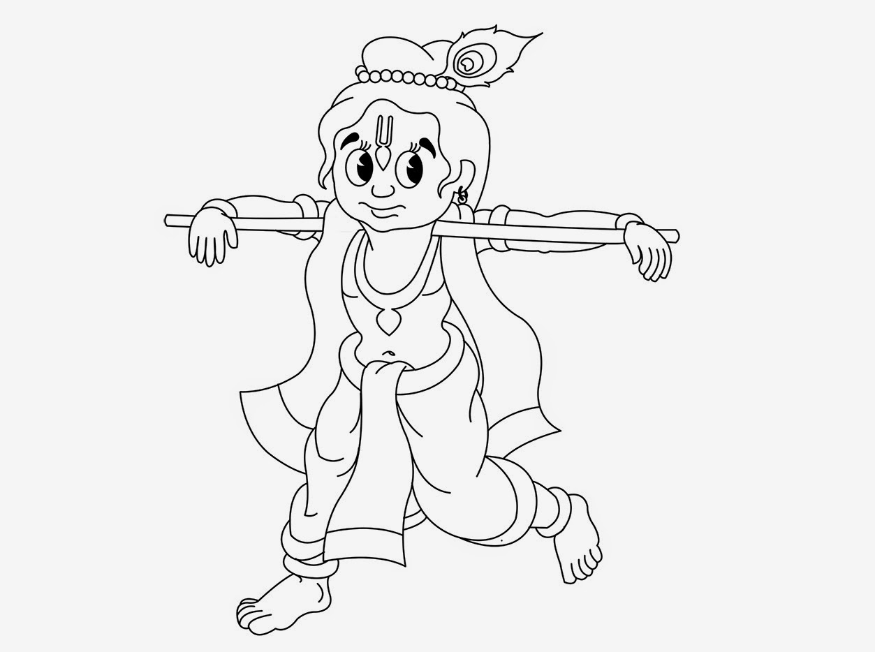 coloring pages of little krishna colour drawing free hd wallpapers little krishna for kid of krishna pages little coloring