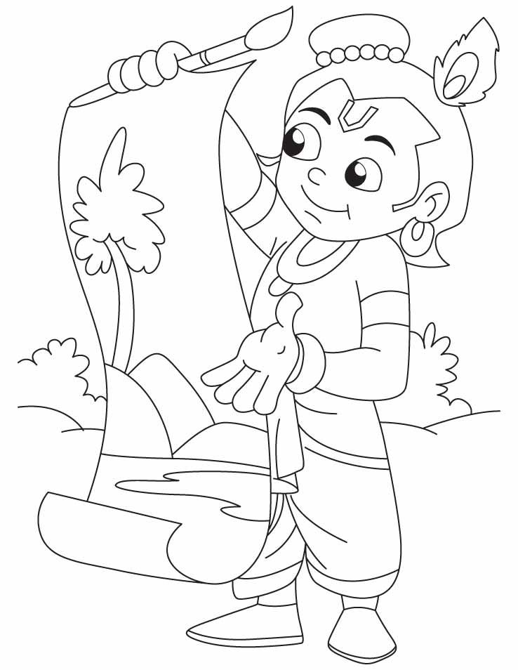 coloring pages of little krishna download or print this amazing coloring page krishna the of coloring pages krishna little