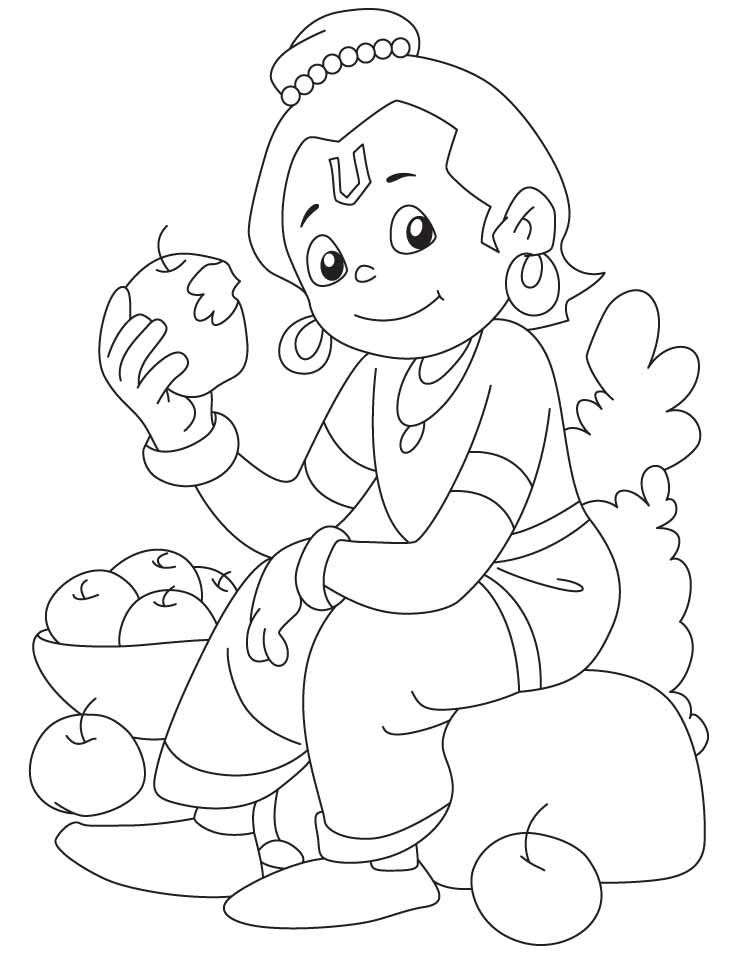 coloring pages of little krishna lord krishna free coloring pages sketch coloring page little of coloring krishna pages