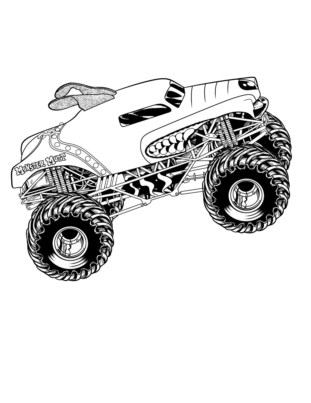 coloring pages of monster trucks drawing monster truck coloring pages with kids trucks monster of pages coloring