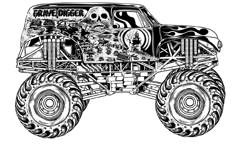 coloring pages of monster trucks free printable monster truck coloring pages for kids pages trucks coloring of monster