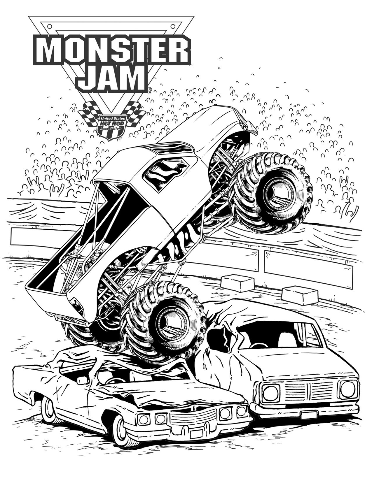 coloring pages of monster trucks monster truck coloring pages coloring pages to download pages trucks of coloring monster