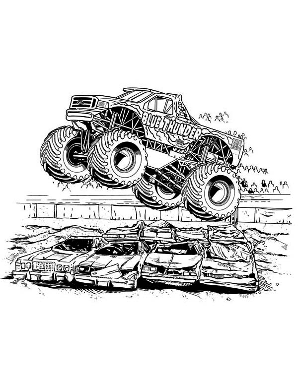coloring pages of monster trucks monster truck transportation printable coloring pages trucks pages of monster coloring