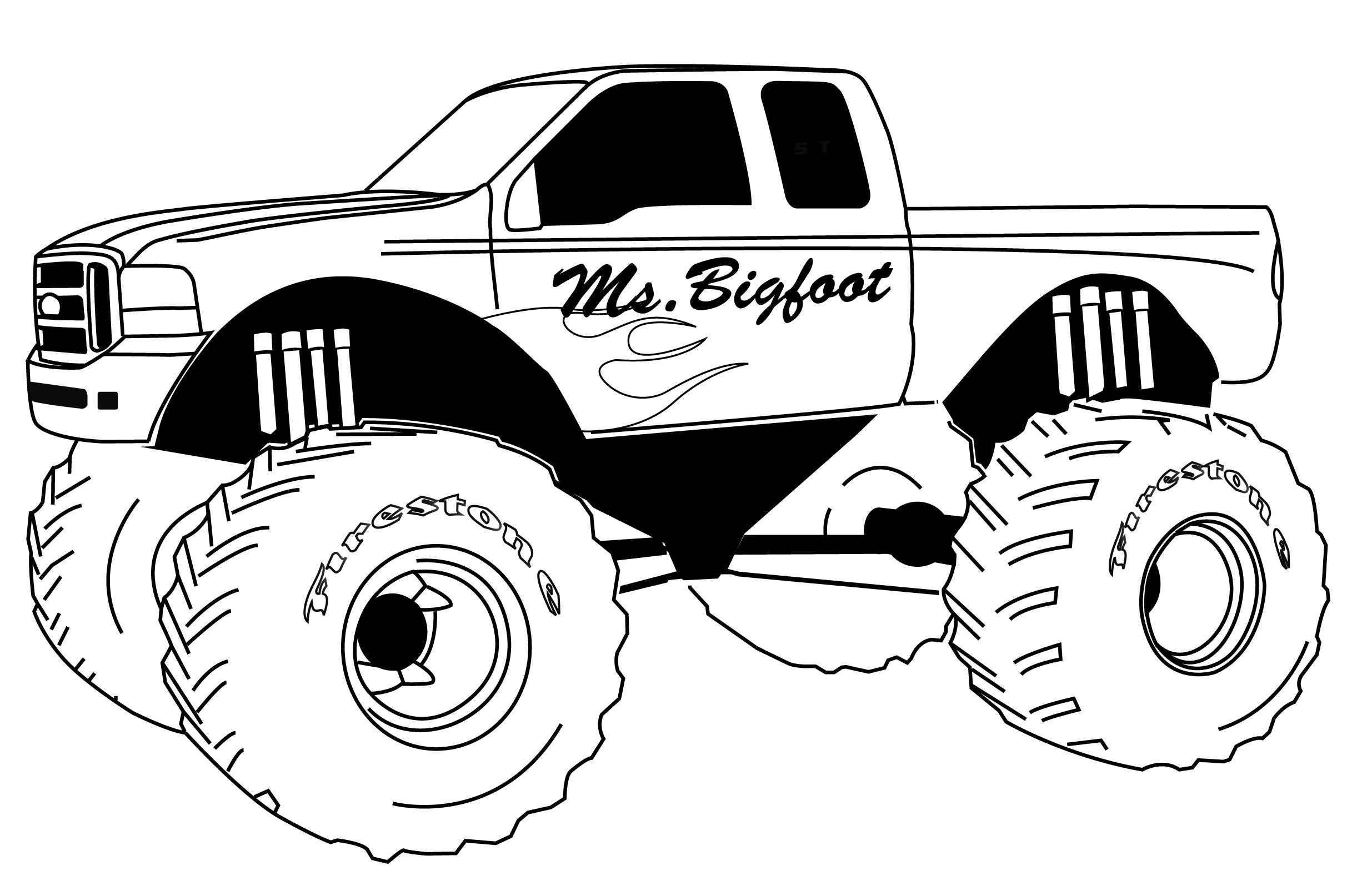 coloring pages of monster trucks unique monster truck coloring pages library free trucks pages coloring monster of