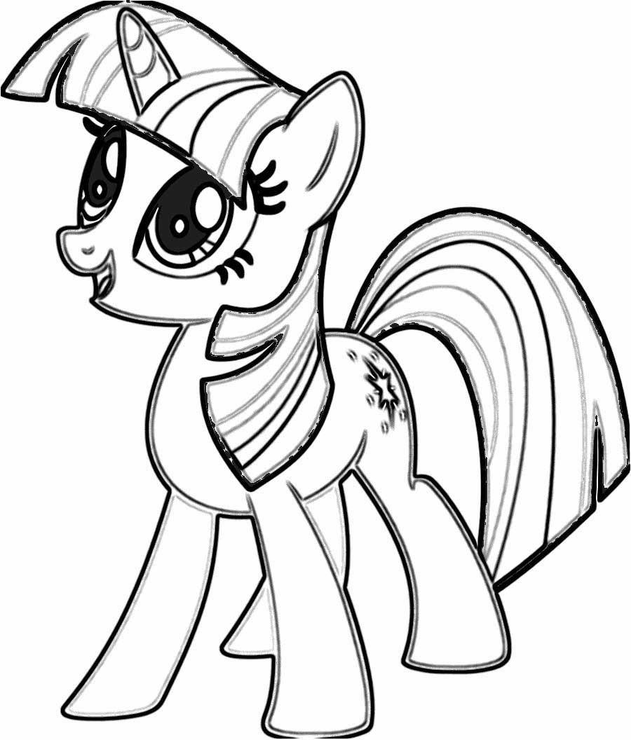 coloring pages of my little pony my little pony coloring pages twilight sparkle at pages my little pony of coloring