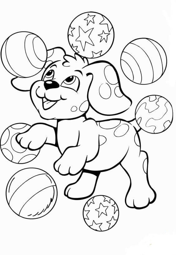 coloring pages of puppies 30 free printable puppy coloring pages scribblefun puppies of pages coloring 1 1