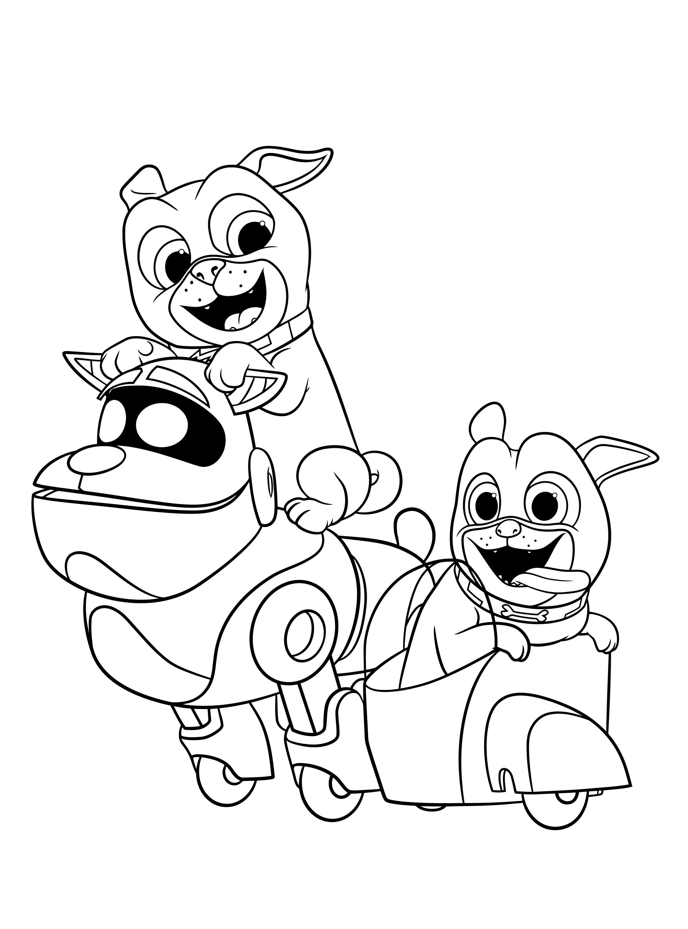 coloring pages of puppies puppy dog pals and arf colouring image puppies pages of coloring