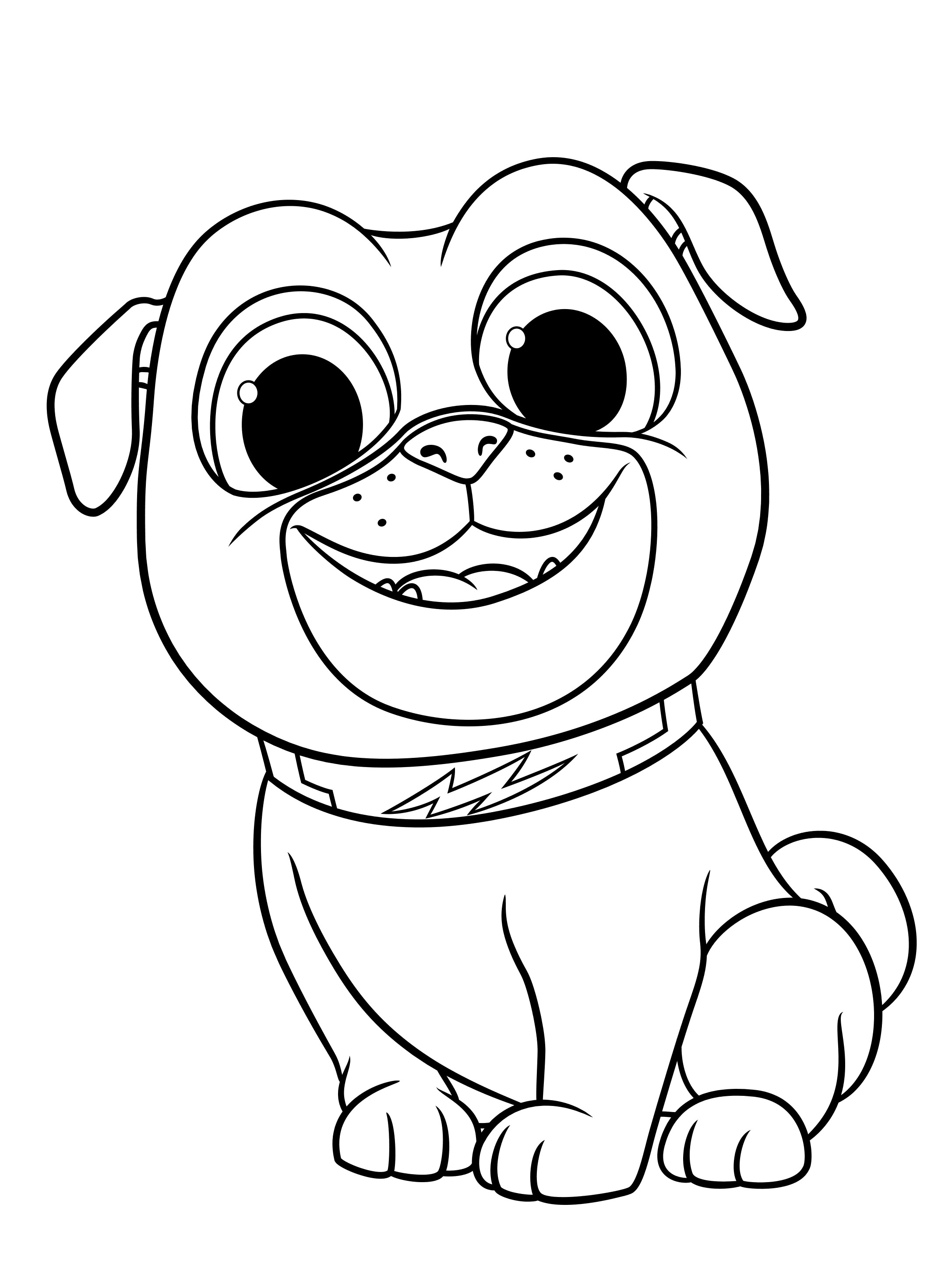 coloring pages of puppies puppy dog pals coloring pages to download and print for free coloring of pages puppies