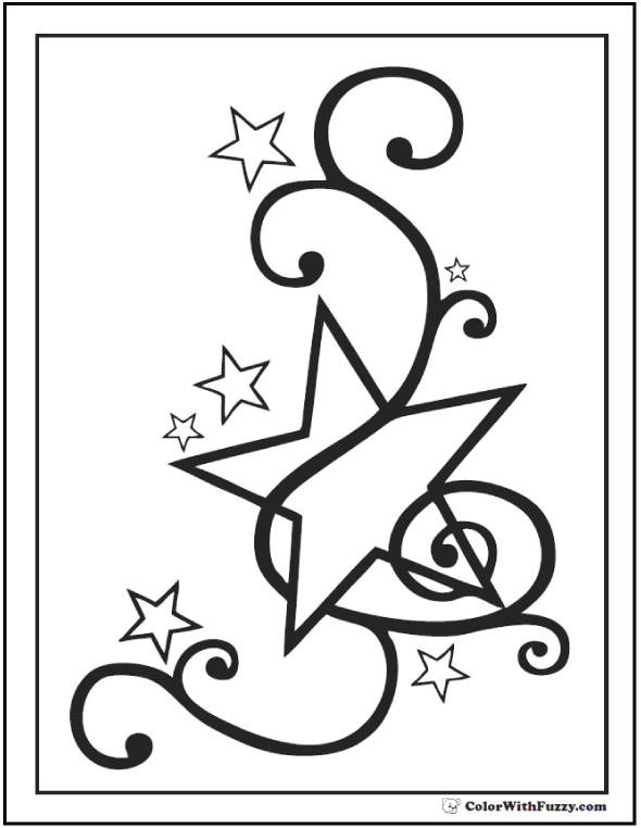 coloring pages of stars 60 star coloring pages customize and print pdf stars of pages coloring