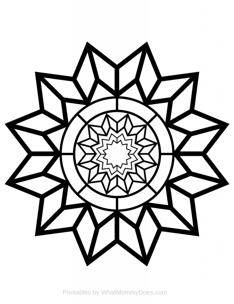coloring pages of stars free printable adult coloring page detailed star pattern of stars coloring pages