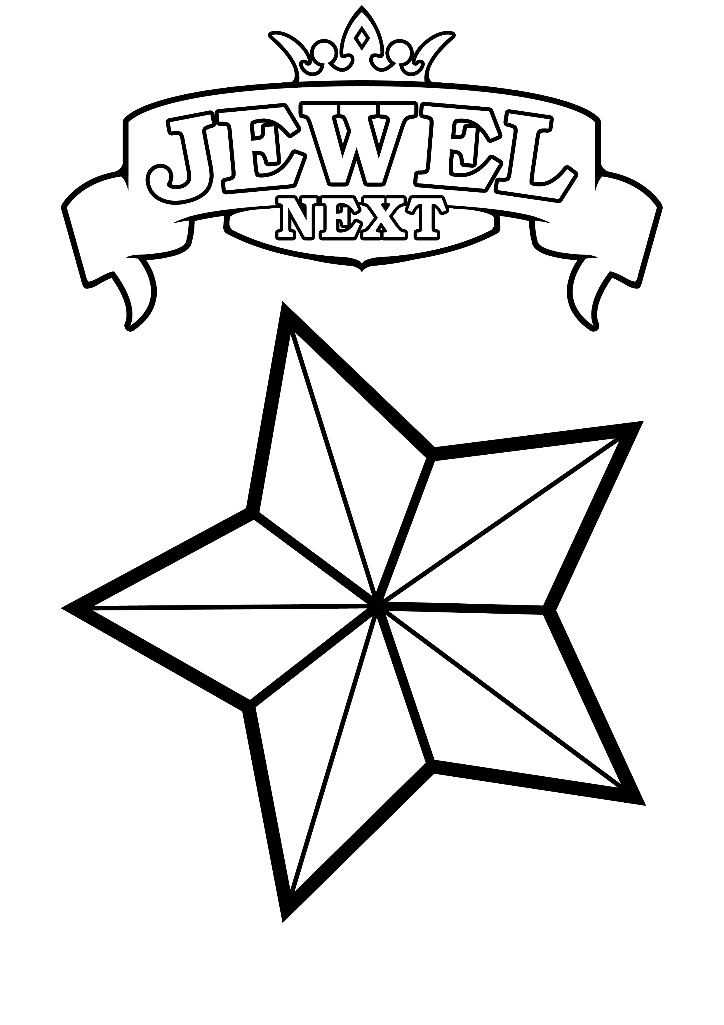 Coloring pages of stars