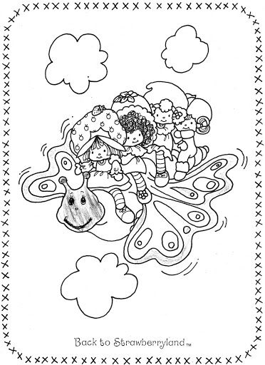 coloring pages of strawberry shortcake and friends album archive used coloring bookstrawberry shortcake coloring shortcake and friends pages of strawberry