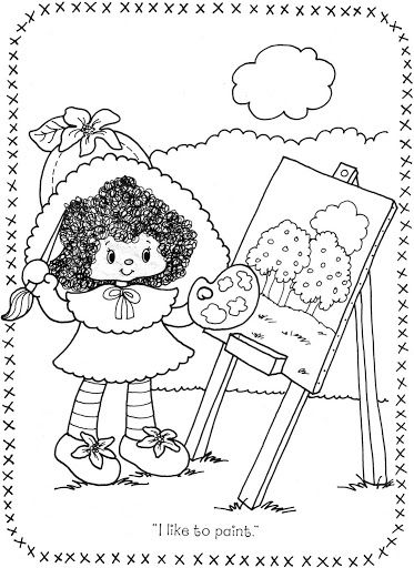 coloring pages of strawberry shortcake and friends berryfest princess strawberry shortcake coloring page friends shortcake of pages strawberry coloring and