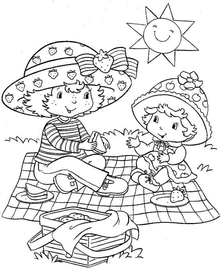 coloring pages of strawberry shortcake and friends coloring pages strawberry shortcake and friends strawberry and pages friends shortcake coloring of