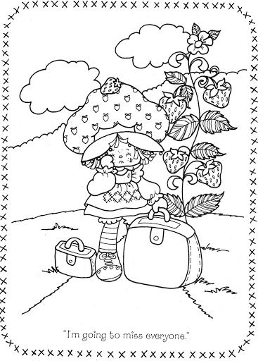 coloring pages of strawberry shortcake and friends original strawberry shortcake coloring page shortcake coloring friends pages and strawberry of