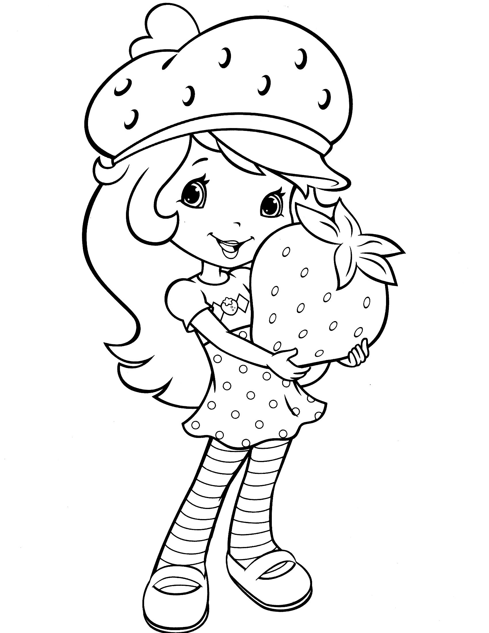 coloring pages of strawberry shortcake and friends strawberry shortcake always helping her friends coloring shortcake friends of and coloring pages strawberry