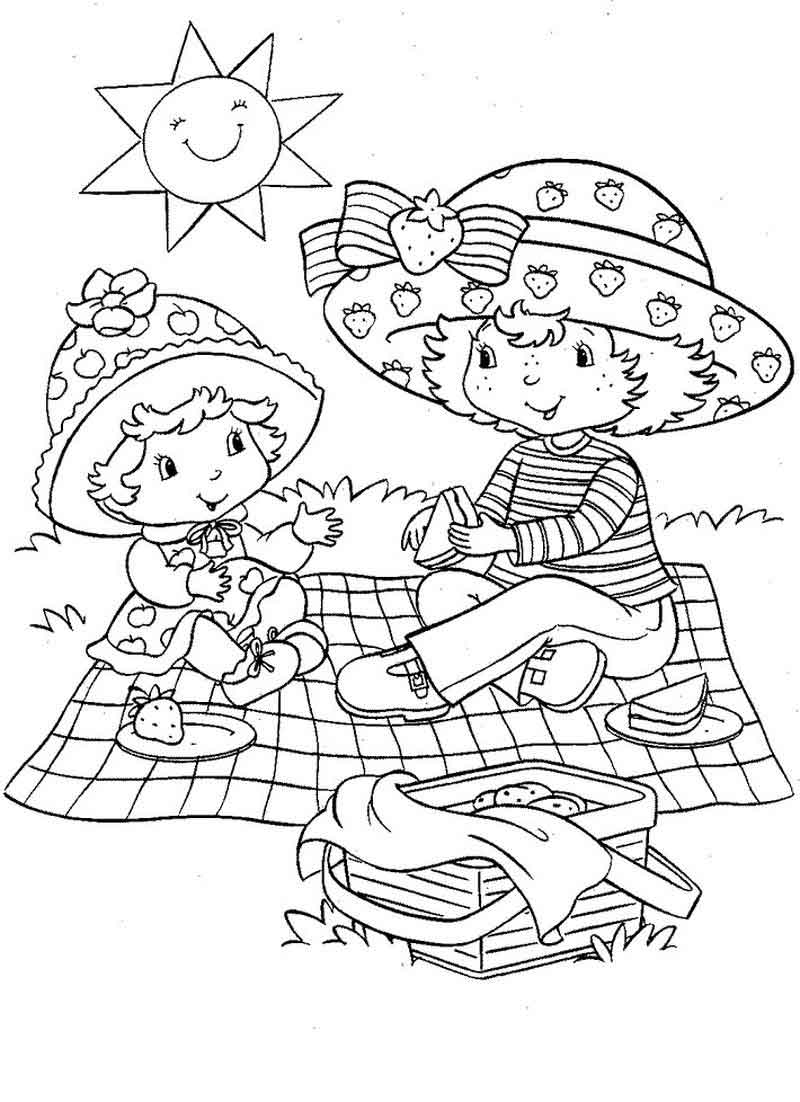 coloring pages of strawberry shortcake and friends strawberry shortcake and friends coloring page coloring sky of coloring and shortcake friends strawberry pages