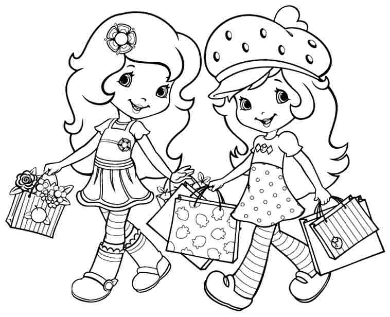 coloring pages of strawberry shortcake and friends strawberry shortcake and friends coloring pages coloring strawberry friends shortcake and pages coloring of