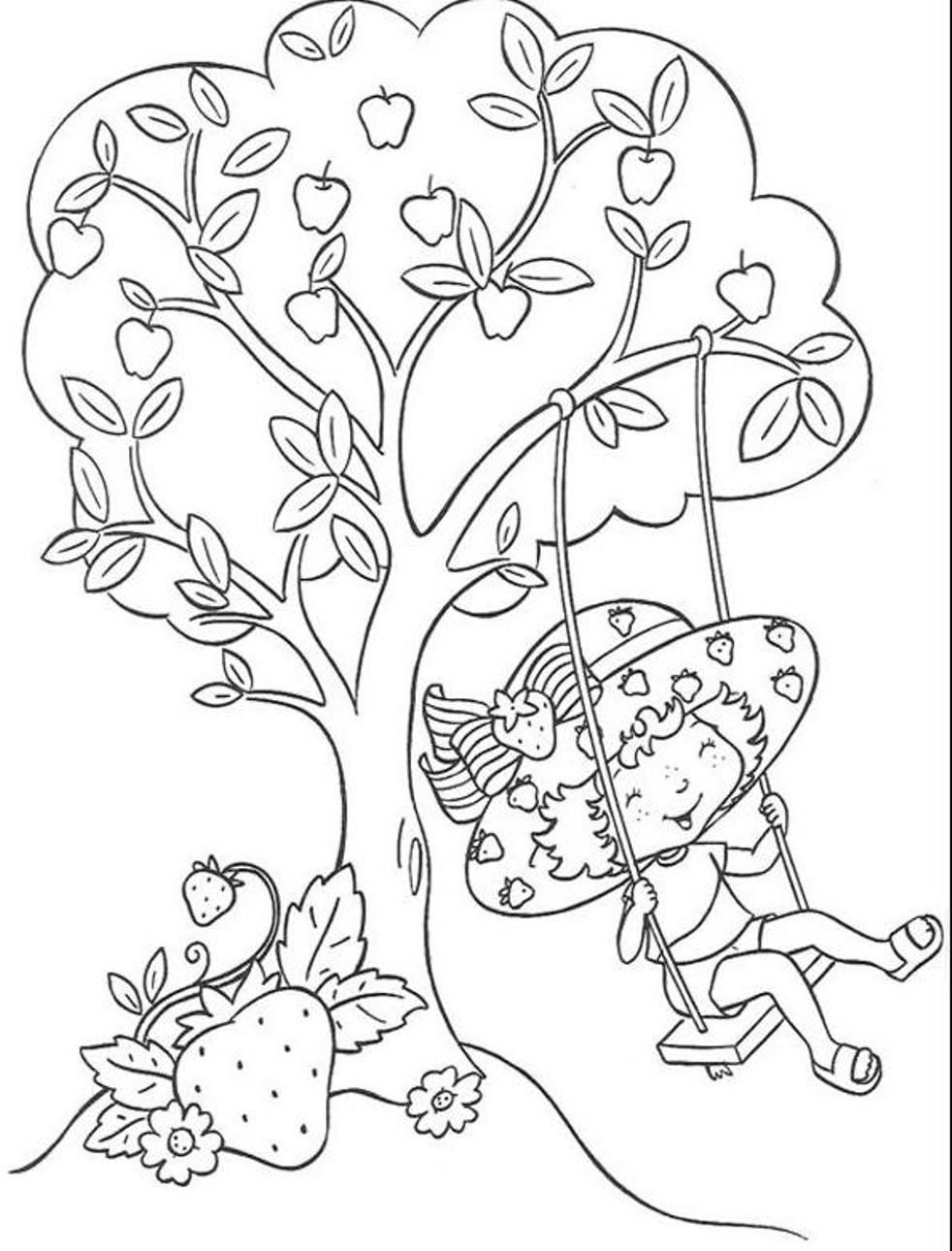 coloring pages of strawberry shortcake and friends strawberry shortcake and friends coloring pages of shortcake friends and strawberry coloring pages