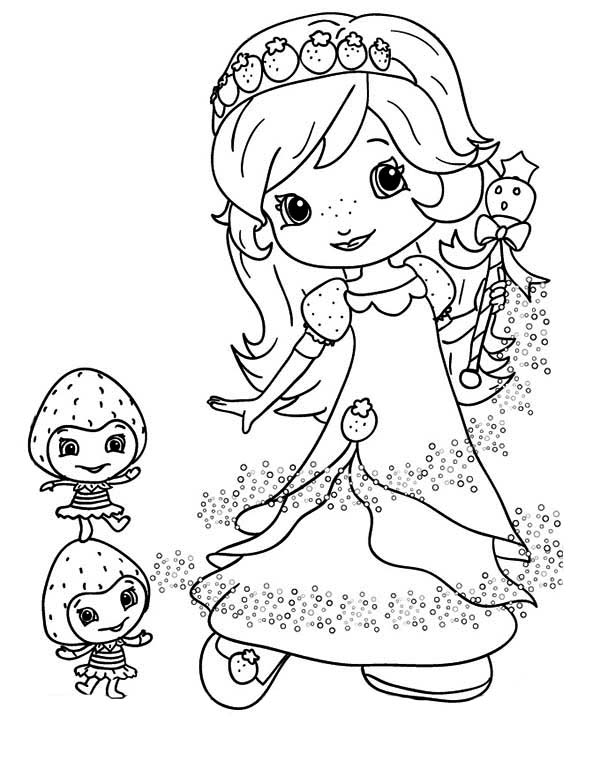 coloring pages of strawberry shortcake and friends strawberry shortcake coloring pages shortcake coloring friends pages and strawberry of