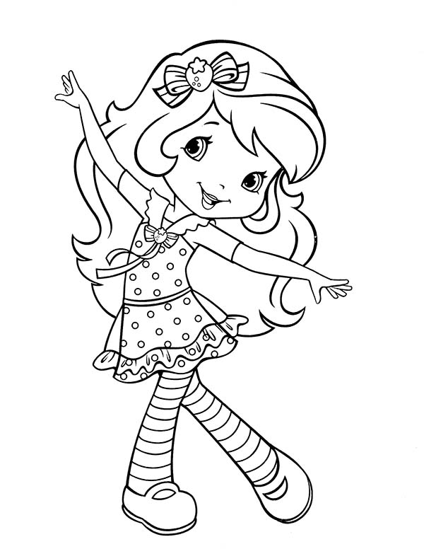 coloring pages of strawberry shortcake and friends used coloring bookstrawberry shortcake and her friends shortcake strawberry and of friends coloring pages