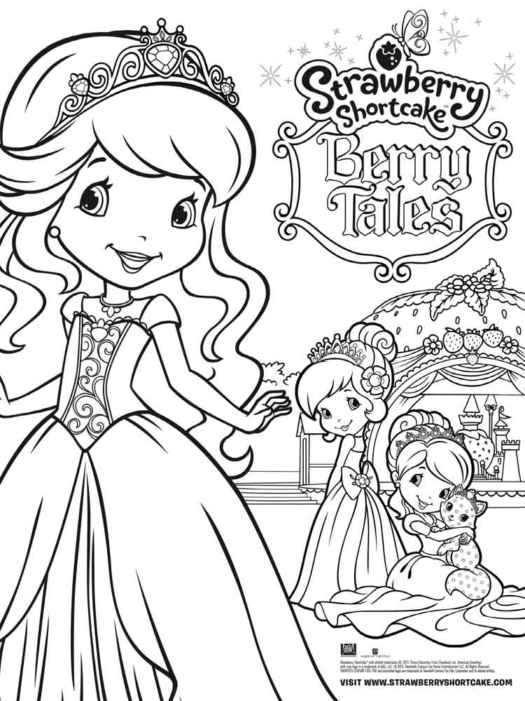 coloring pages of strawberry shortcake and friends used coloring bookstrawberry shortcake and her friends strawberry and friends shortcake of coloring pages