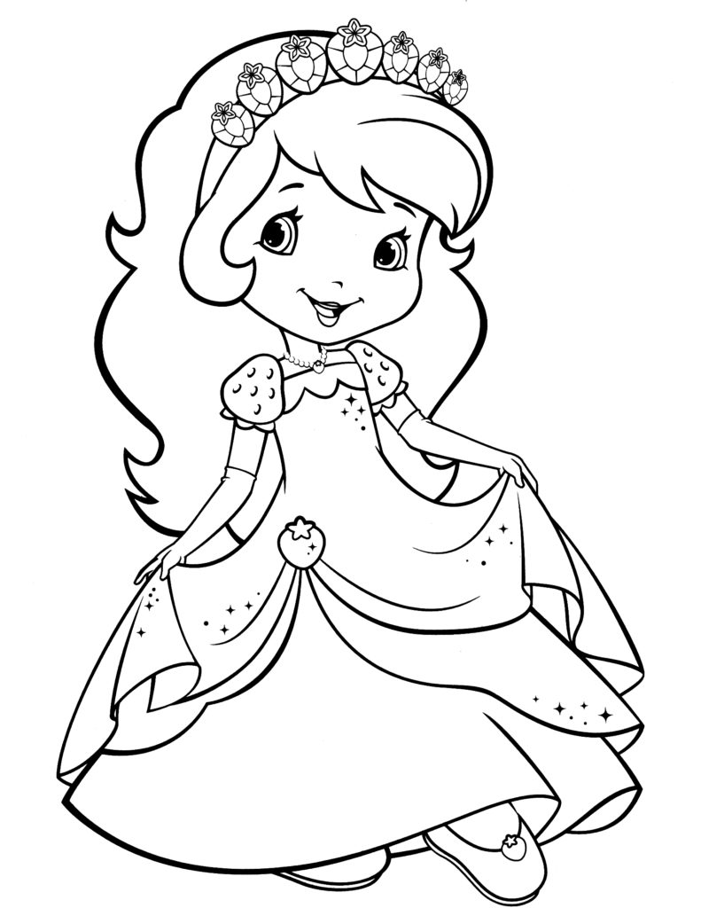 coloring pages of strawberry shortcake and friends used coloring bookstrawberry shortcake and her friends strawberry pages of friends shortcake coloring and