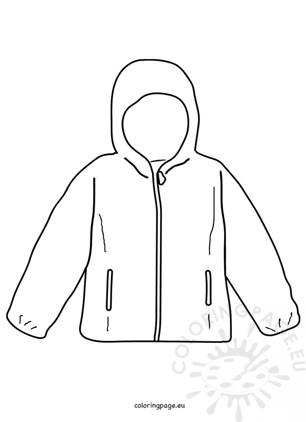 coloring pages of winter coats coat winter jacket template coloring page winter coats of coloring pages