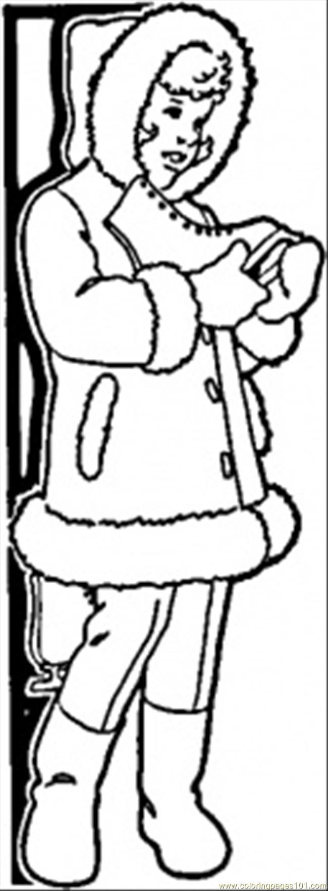coloring pages of winter coats warm winter coat coloring page free clothing coloring of coloring winter pages coats