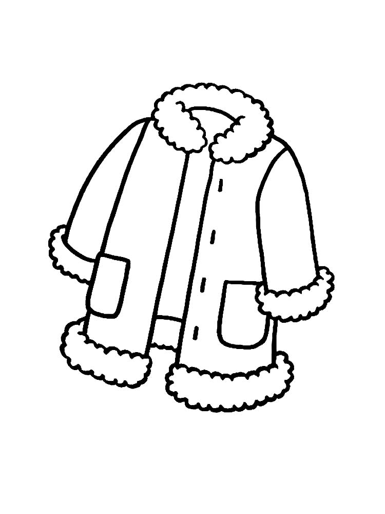 coloring pages of winter coats winter clothes coloring pages to download and print for free of winter pages coats coloring