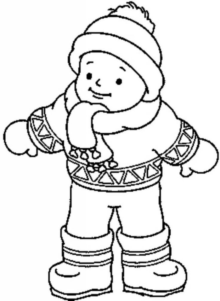 coloring pages of winter coats winter clothing coloring pages coloring home of coats coloring winter pages