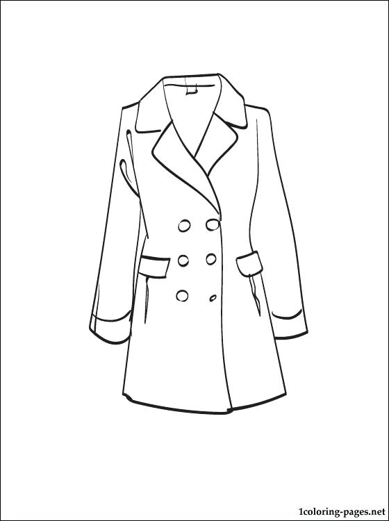 coloring pages of winter coats winter coat coloring page at getcoloringscom free pages winter coloring coats of