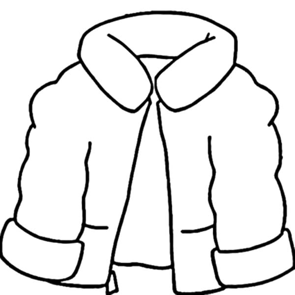 coloring pages of winter coats winter coat coloring page awesome best padded jacket coats winter coloring of pages