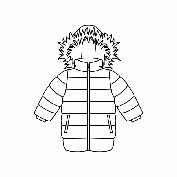 coloring pages of winter coats winter coat coloring page best of cartoon fur winter coat pages of coloring coats winter