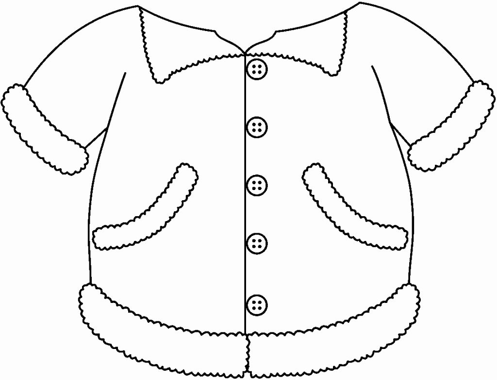 coloring pages of winter coats winter coat coloring page fresh coat winter jacket clipart coloring winter pages of coats