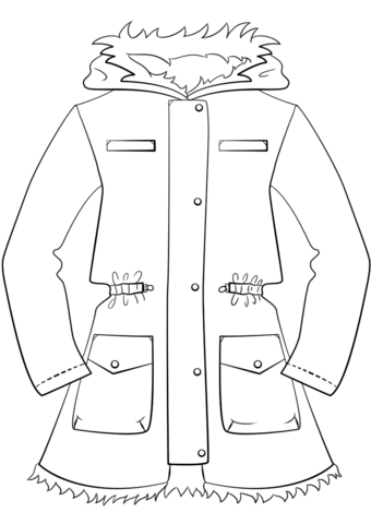 coloring pages of winter coats winter coat drawing at getdrawings free download coats winter of pages coloring