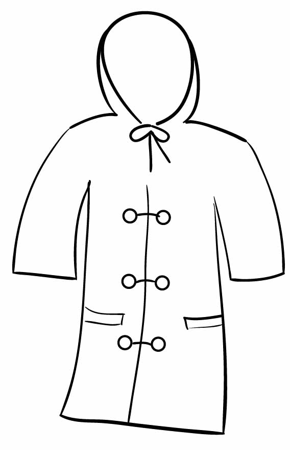 coloring pages of winter coats winter jacket clipart clipartsco coats pages coloring of winter