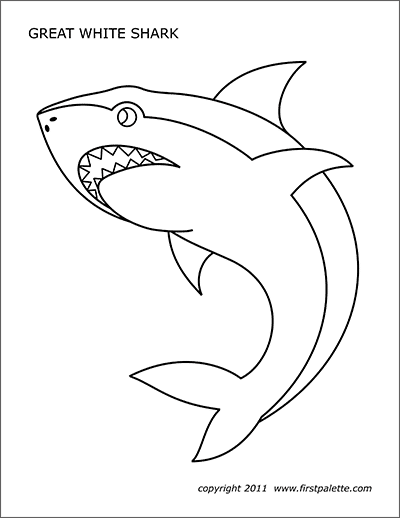 coloring pages sharks printable free easy to print shark coloring pages tulamama pages coloring printable sharks