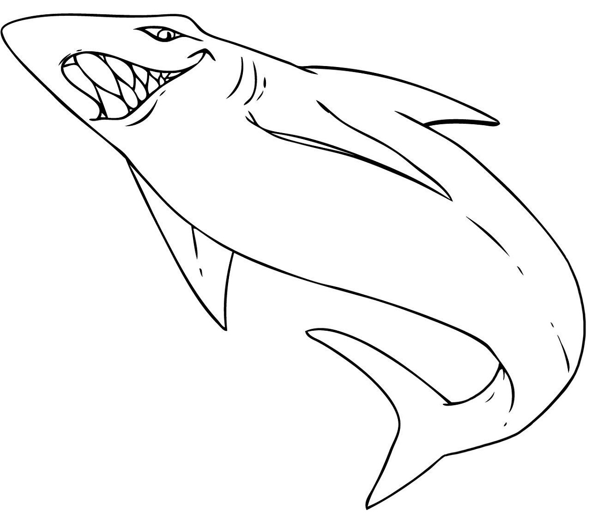 coloring pages sharks printable free easy to print shark coloring pages tulamama sharks pages coloring printable