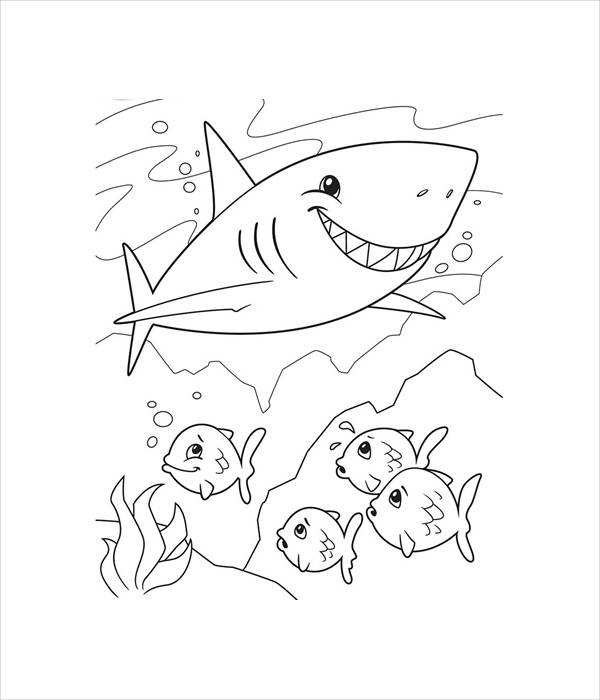 coloring pages sharks printable great white shark coloring pages downloadable and coloring printable sharks pages