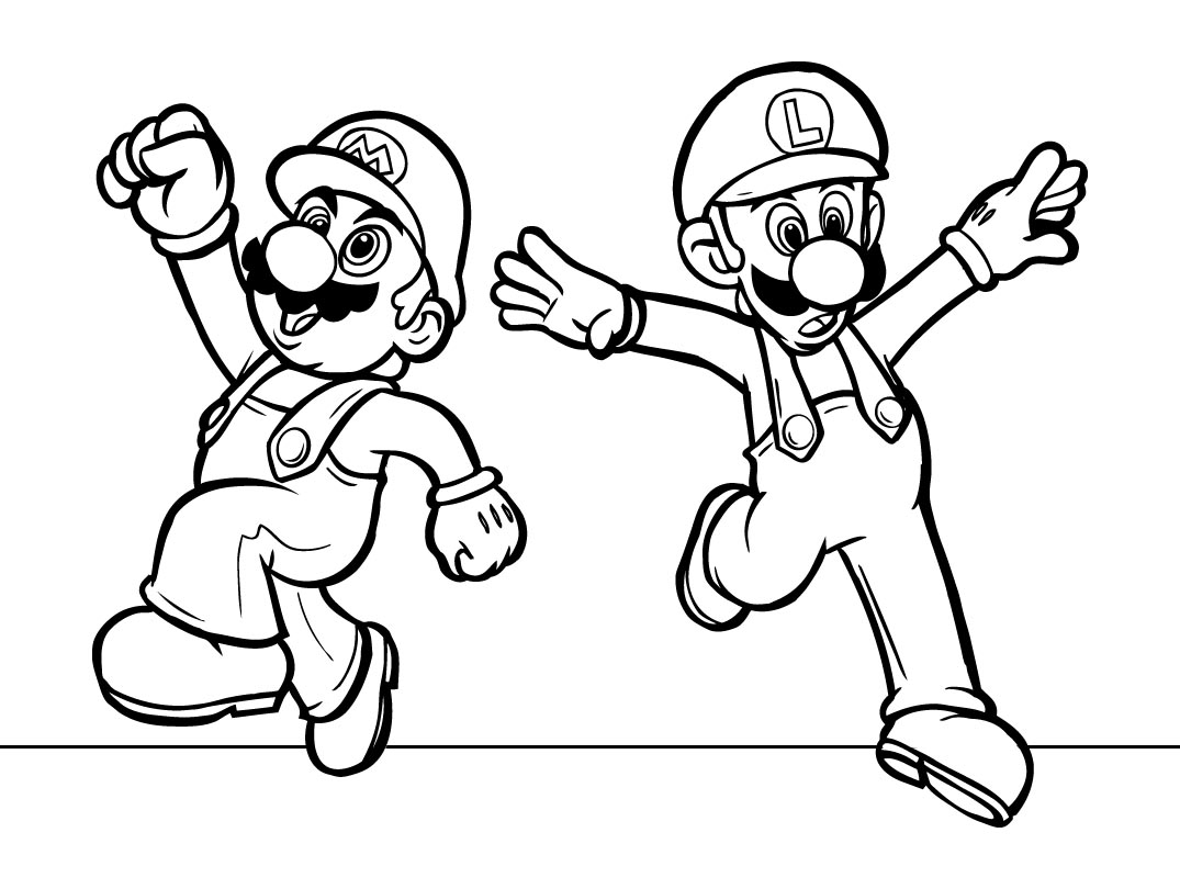 coloring pages super mario 100 coloring pages mario for free print mario and luigi mario super coloring pages