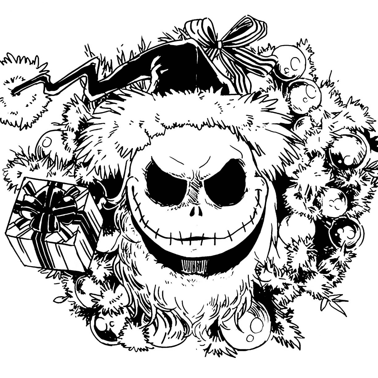 coloring pages to print for free free nightmare before christmas coloring pages printable coloring for to free pages print