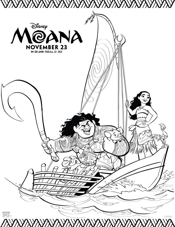 coloring pages to print for free free printable moana coloring pages activity sheets for to for free pages print coloring